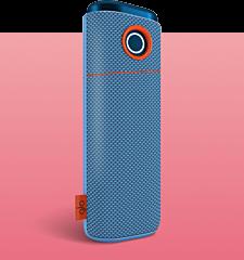 Тканевый чехол для glo™ нано Синий деним