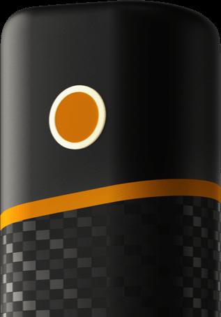 Кнопка на устройстве glo™ nano